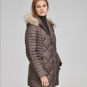 Marc New York Kameron Chevron Down Coat